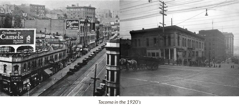 Tacoma in the 1920's